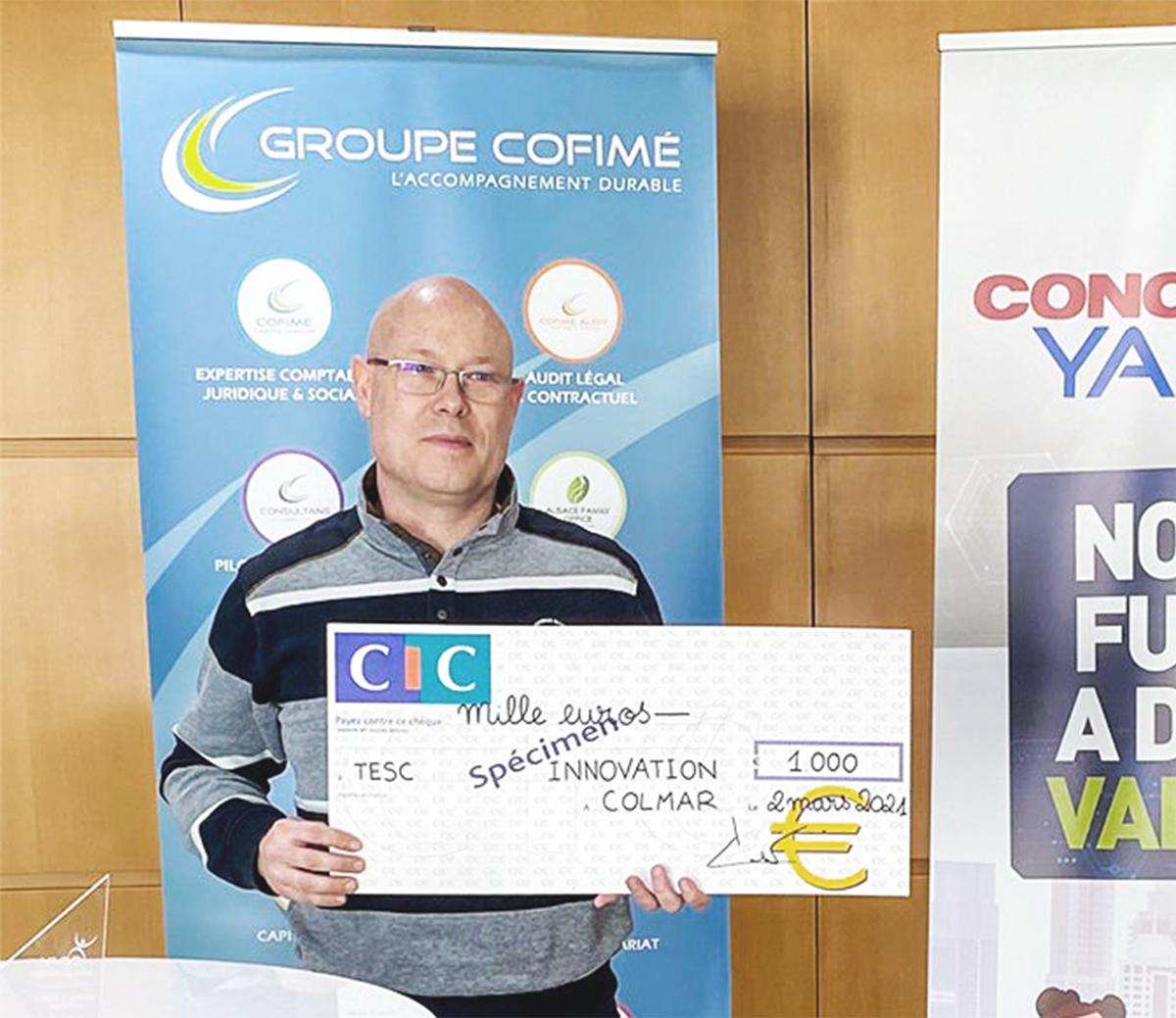 TESC Innovation décroche le 3ème prix « Produits et Services Innovants » au concours Yago 2020